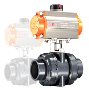 Pneumatic True Union Ball Valve