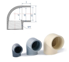ASTM 90° Elbow (SxFPT)