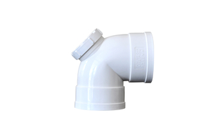 ISO-DW 90° Elbow with Inspection