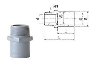 JIS-AW Male Adaptor